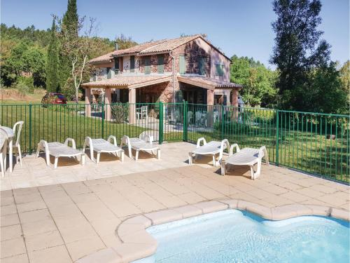 Holiday home Gonfaron 56 with Outdoor Swimmingpool : Guest accommodation near Pignans