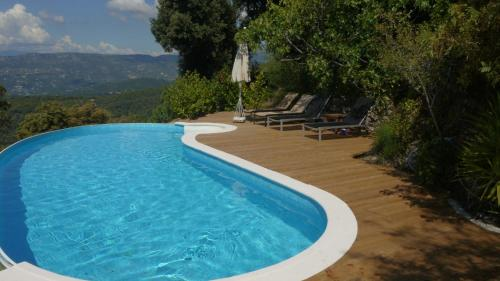 La Vela : Bed and Breakfast near Peille