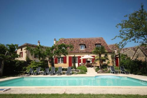 Le Domaine des Fargues : Guest accommodation near Saint-Félix-de-Villadeix