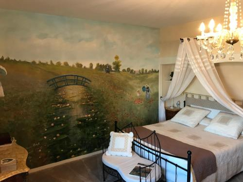 Le Clos de La Muse : Bed and Breakfast near Pressignac