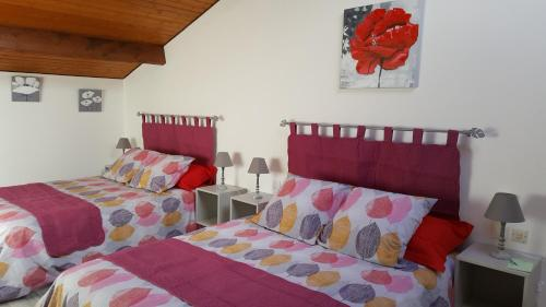 Le Grenier Elena : Guest accommodation near Saint-Caprais-de-Bordeaux
