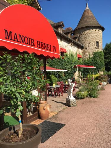 Manoir Henri IV : Hotel near Augères