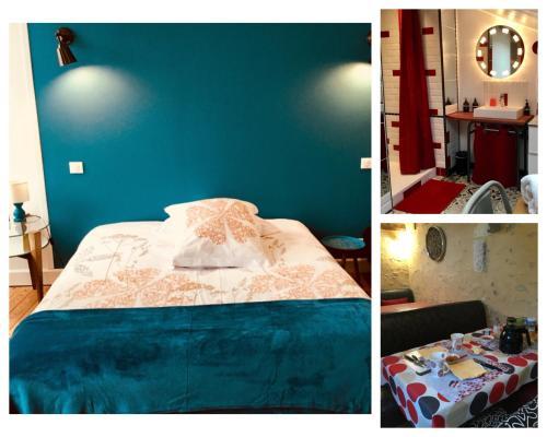 Le 42 Chambre d'hôtes : Bed and Breakfast near Saint-Martin-du-Vieux-Bellême