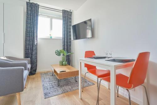 La Halte Lilloise Euralille : Apartment near Marquette-lez-Lille