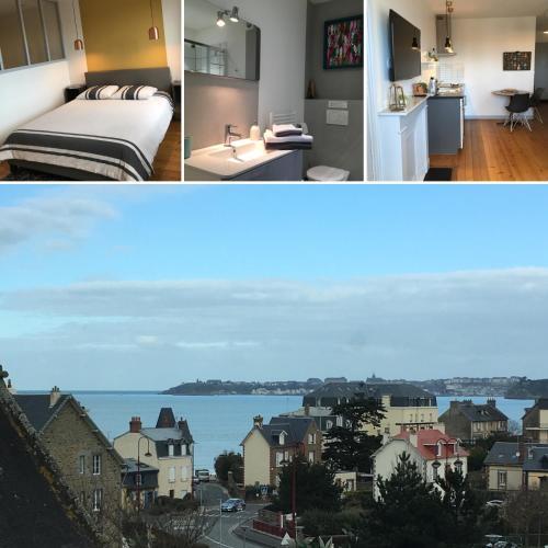 Villa Bel-Amy : Apartment near Saint-Pair-sur-Mer