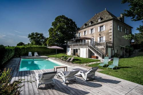 La Demeure de L'Eclache : Guest accommodation near Saint-Jacques-d'Ambur