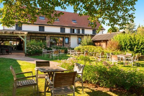 Brithotel Restaurant & Spa Relais du Ried - Bischwihr Colmar Est : Hotel near Muntzenheim
