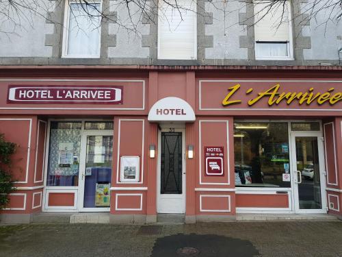 Hotel De L'arrivée : Hotel near Saint-Brieuc