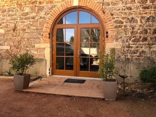 Gites du chateau du Breuil : Guest accommodation near Thel