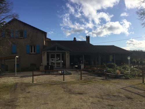 Hotel-Restaurant du Causse : Hotel near Berganty