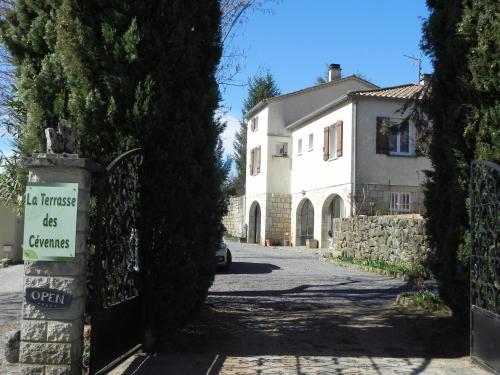 La Terrasse des Cevennes B&B : Bed and Breakfast near Montselgues