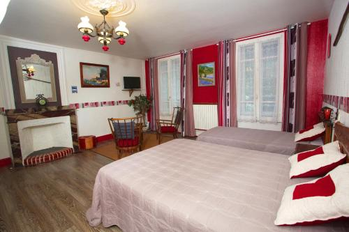 Chambres d'Hôtes Les Passiflores : Bed and Breakfast near Beaudéan