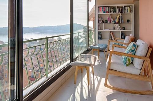 By The Sea : Apartment near Villefranche-sur-Mer