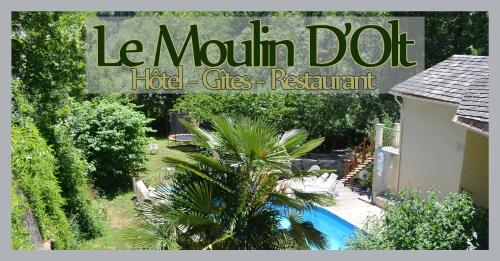 Le Moulin D'Olt : Hotel near Saint-Bonnet-de-Chirac