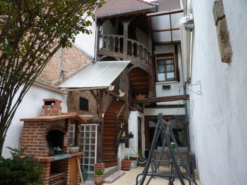 Chez Christian : Apartment near Saint-Aubin