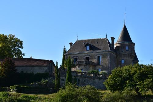 Chateau de la Grave : Bed and Breakfast near Saint-Mariens
