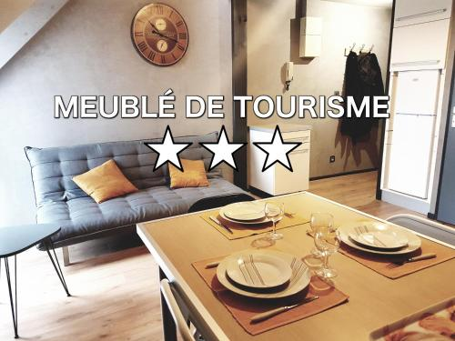 Appartement cosy Lorient centre Parking prive : Apartment near Locmiquélic