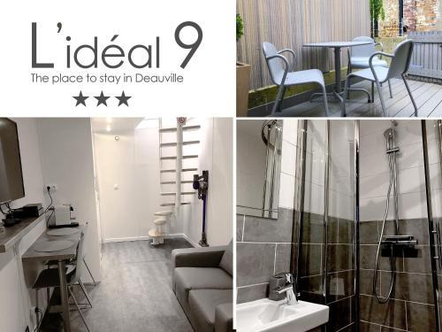 L'idéal 9 : Apartment near Deauville