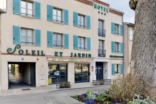 Soleil et Jardin : Hotel near Solaize