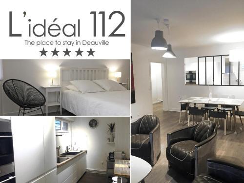 L'Idéal 112 : Apartment near Deauville