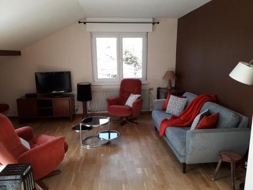 Les Noisetiers de ma Grand Mere : Apartment near Horbourg-Wihr