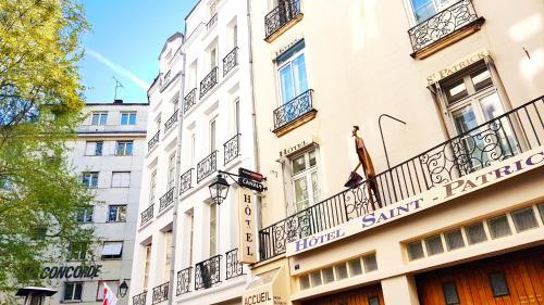Hôtel Saint-Patrick : Hotel near Nantes