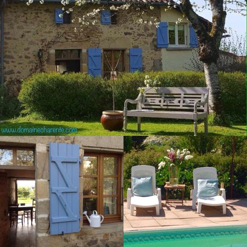 Domaine Charente - Cottage Charente : Guest accommodation near Saint-Claud