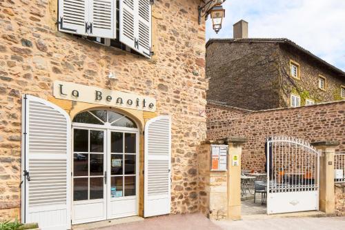La Benoite : Hotel near Saint-Étienne-la-Varenne