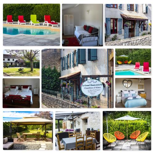 Le Grand Chemin de La Vie : Bed and Breakfast near Lamothe-Montravel