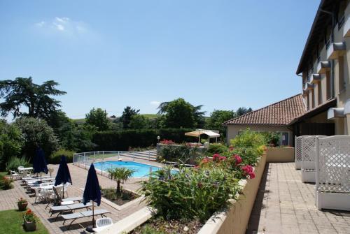 Hotel Le Villon : Hotel near Charentay