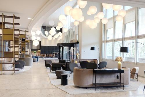 Lyon Marriott Hotel Cité Internationale : Hotel near Rochetaillée-sur-Saône