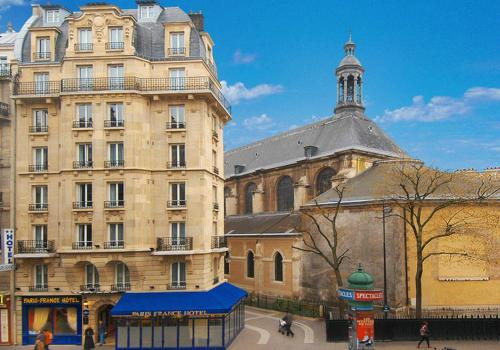 Paris France Hotel : Hotel near Paris 3e Arrondissement
