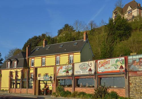 Hôtel Restaurant Le Cap : Hotel near Saint-Maurice-en-Cotentin