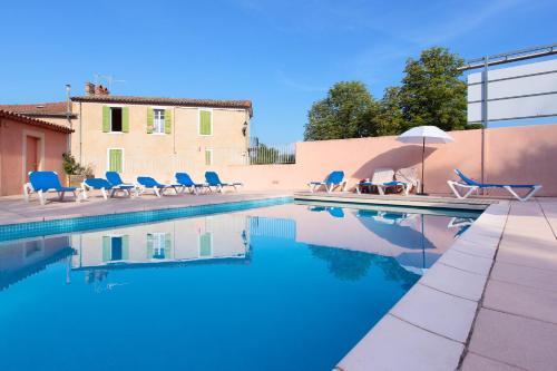 Les Colonnes : Hotel near Gréoux-les-Bains