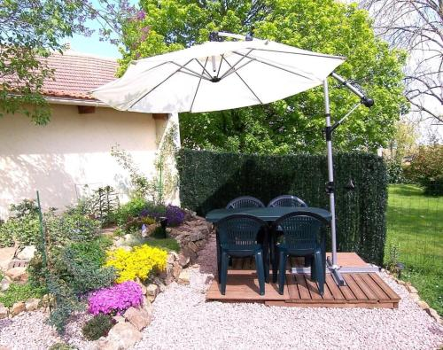Holiday home Augeres 1 : Guest accommodation near Ars-les-Favets