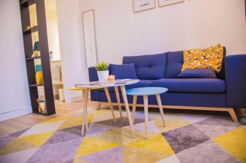 Studio cosy avec mezzanine à 6 mins de Paris : Apartment near Montmagny