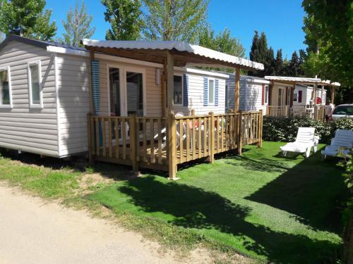 Mobile Home Des Sables : Guest accommodation near Sérignan