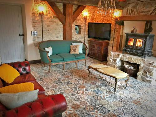 Beautiful Seaside Farmhouse : Guest accommodation near Lessay