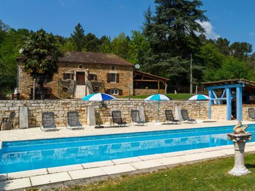 Maison De Vacances - Blanquefort-Sur-Briolance 1 : Guest accommodation near Soulaures