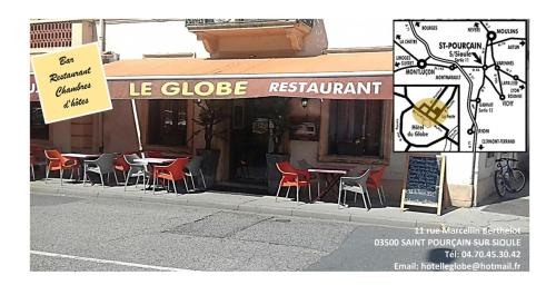 Le Globe : Bed and Breakfast near Laféline