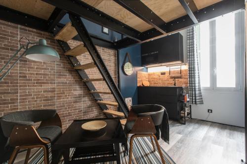 Mezzanine Studio near Monaco : Apartment near Roquebrune-Cap-Martin