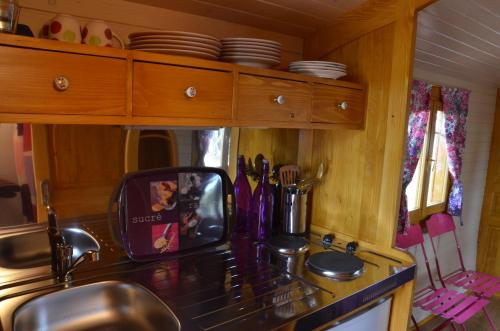 Arbrakabane : Bed and Breakfast near Saint-Blancard