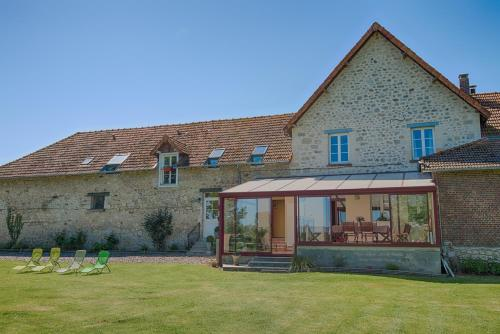 Au Jardin Fleuri : Guest accommodation near Presles-et-Thierny