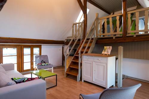 Gîte - Logement rénové dans ferme alsacienne : Guest accommodation near Bilwisheim