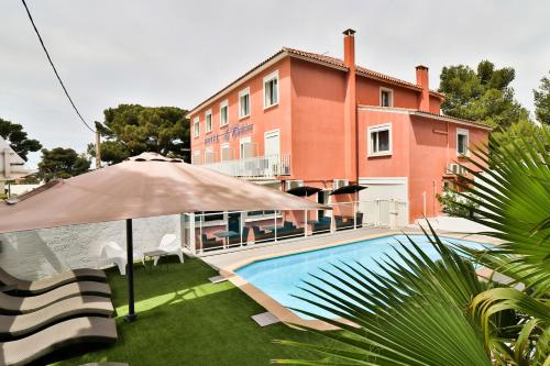 Hotel Restaurant La Tuiliere : Hotel near Carry-le-Rouet
