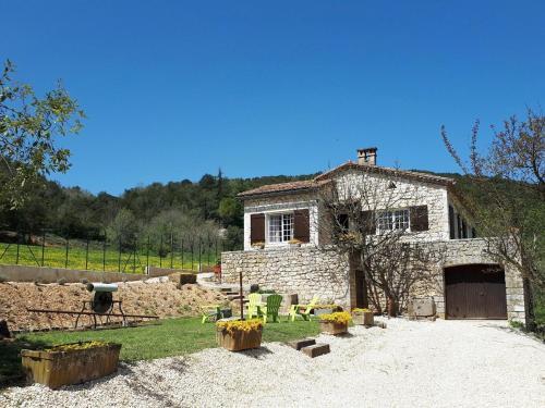 Maison indepentante - Montclus : Guest accommodation near Saint-André-de-Roquepertuis