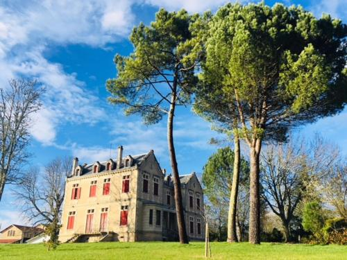 Chateau Vulcain : Guest accommodation near Cazats