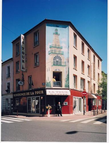 Residence De La Tour Paris-Malakoff : Hotel near Bagneux