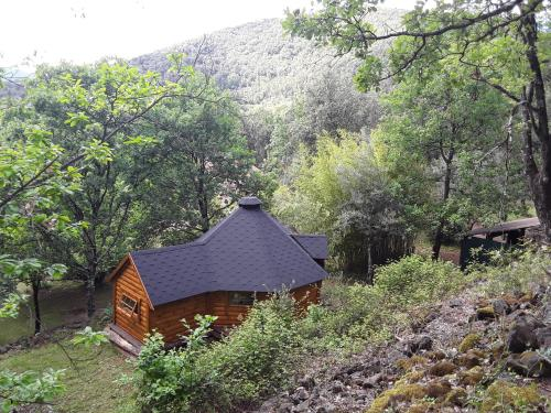 Natur'ânes : Guest accommodation near Corbès