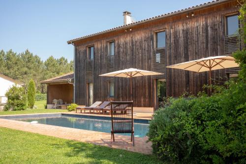 Les maisons d'hôtes de Bouynot : Guest accommodation near Sigalens